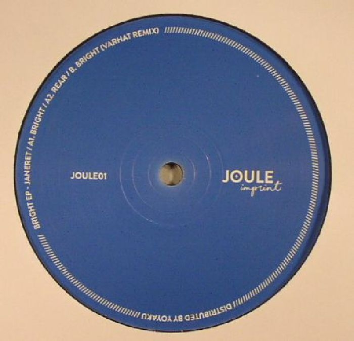"( JOULE 01 ) JANERET - Bright EP (reissue) (12"") Joule Imprint France"