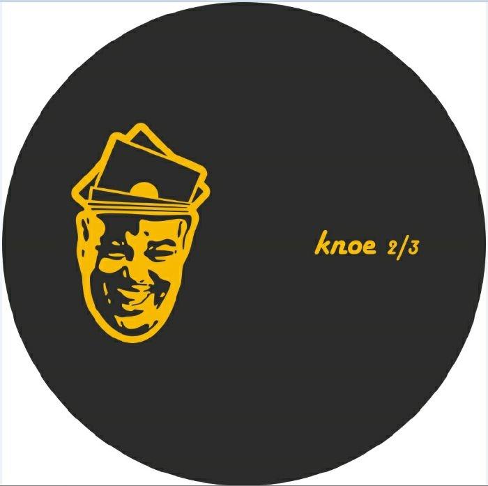 """( KNOE 2/3 ) Casey TUCKER - Knoe 2/3 (140 gram vinyl 12"""") For Those That Knoe"""