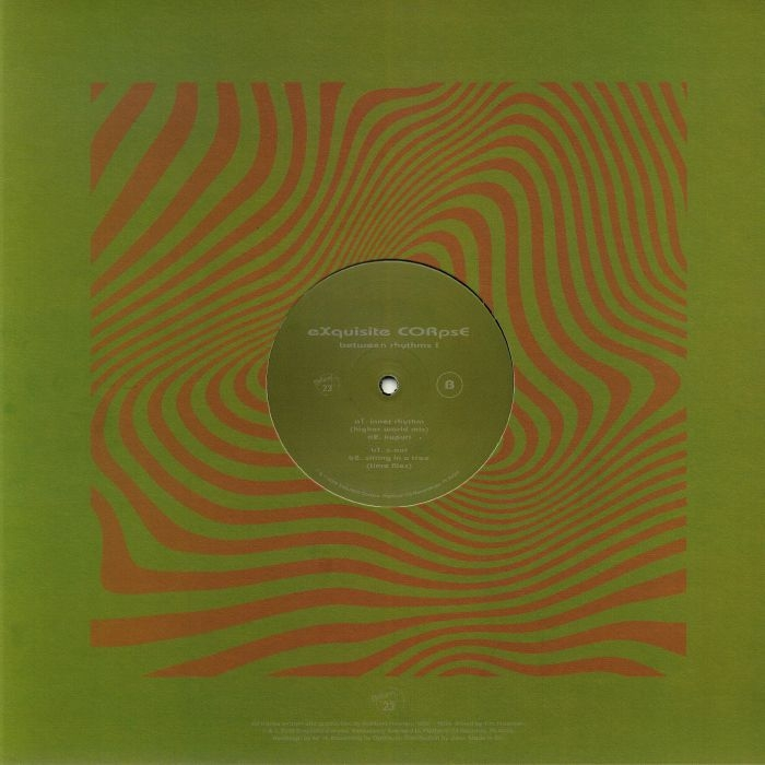 "(  PLA 025 ) EXQUISITE CORPSE - Between Rhythms I ( 140 gram vinyl 12"" ) Platform 23"
