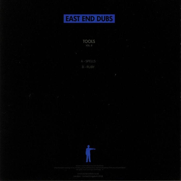 """( EEDV 013 ) EAST END DUBS - Tools Vol 8 (blue vinyl 12"""") - East End Dubs"""