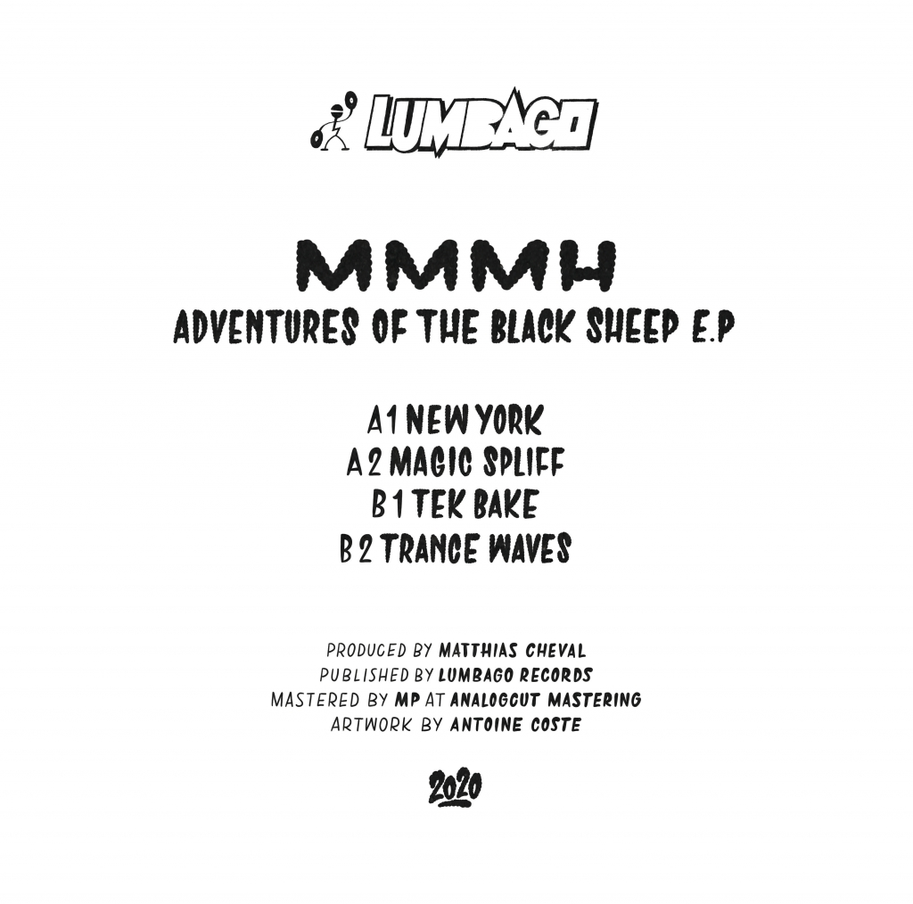 "( LMBG 09 ) MMMH - Adventures Of The Black Sheep EP (12"") Lumbago"