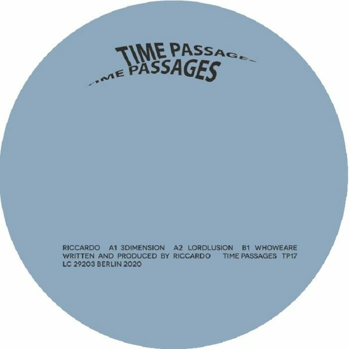"( TP 17 ) RICCARDO - 3Dimension (12"") Time Passages Germany"