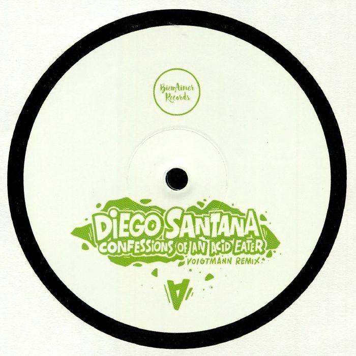 "( BARWAX 001 ) Diego SANTANA - Confessions Of An Acid Eater (12"") Bienaimer"