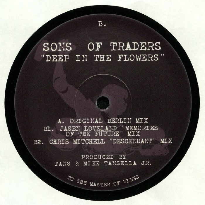 """( SOT 001 ) SONS OF TRADERS - Deep In The Flowers (12"""") Sons Of Traders"""