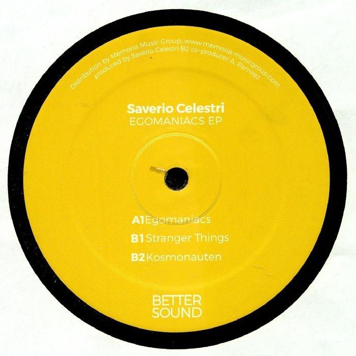 """( BS 02 ) Saverio CELESTRI - Egomaniacs EP (12"""") - Better Sound Italy"""