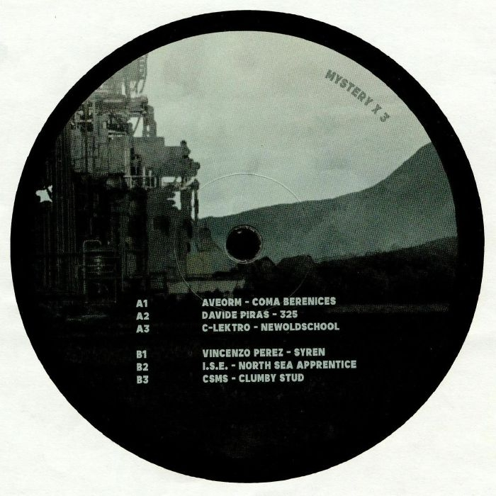 "( MYSTERYX 3 ) VARIOUS ARTISTS - Mystery X3 (12"") Mystery X Germany"
