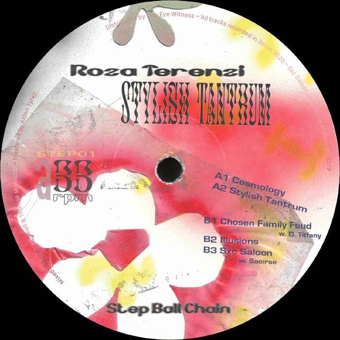 "( STEP 01 ) ROZA TERENZI - Stylish Tantrum (12"") Step Ball Chain Holland"