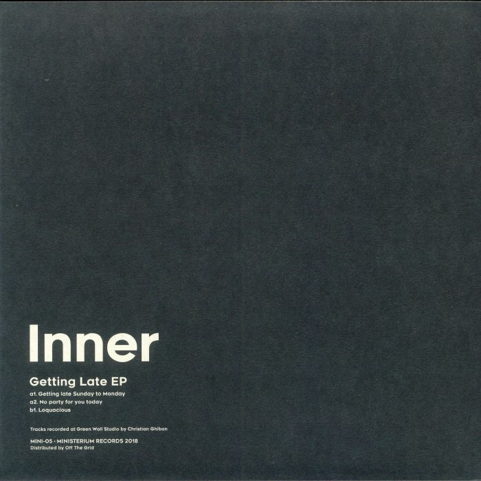 "( MINI 05 ) INNER - Getting Late EP (12"") Ministerium Portugal"