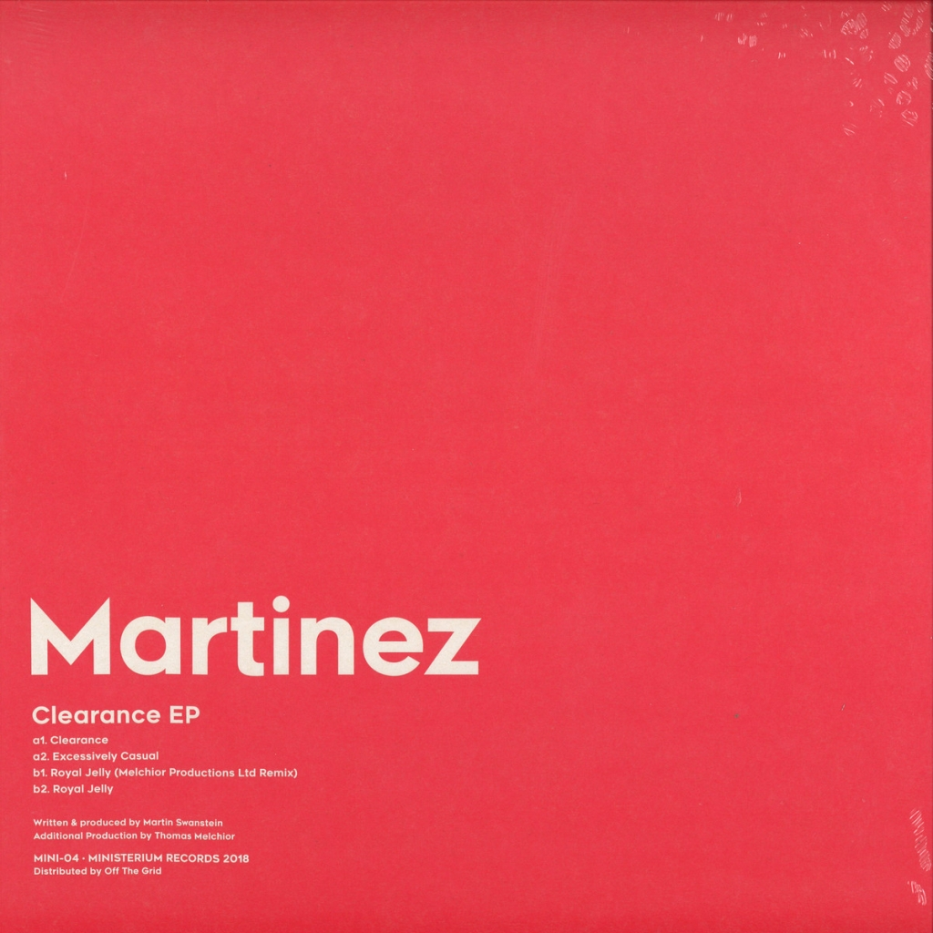 "( MINI 04 ) MARTINEZ - Clearance EP (12"") Ministerium Portugal"