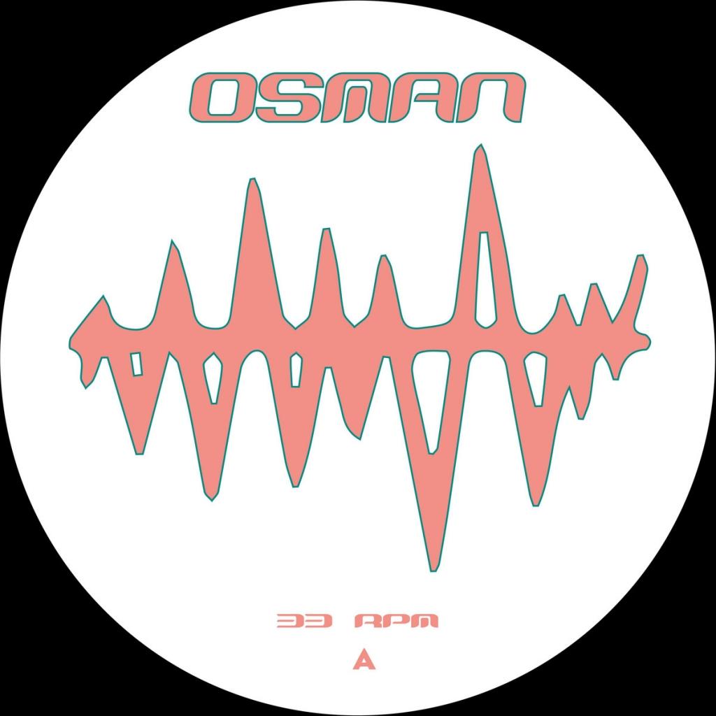 "( OSM 005 ) DARIO REIMANN - No Future Slap EP (12"") Osman"