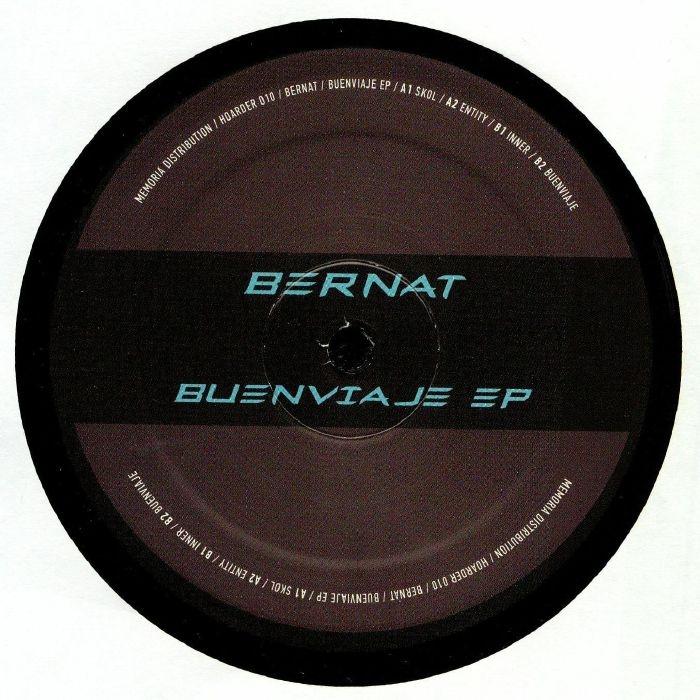 """( HOARD 010 ) BERNAT - Buenviaje EP (12"""") Hoarder Netherlands"""