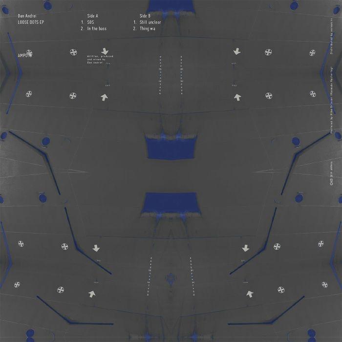 """( AMP 018 ) Dan ANDREI - Loose Dots EP (180 gram vinyl 12"""") Amphia Romania"""
