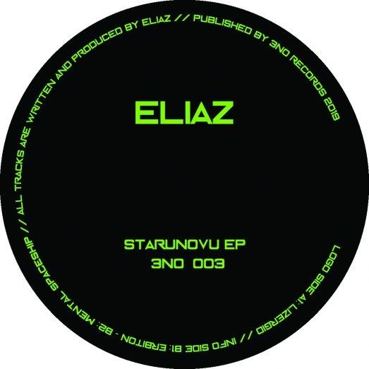 """( 3N0 003 ) ELIAZ - Starunovu EP (12"""") 3N0 Germany"""