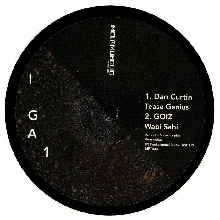 "( MET 033 ) JEM / JACKSONVILLE / DAN CURTIN / GOIZ - Interstellar Groove Addictions Vol 1 (12"") Metamorphic US"