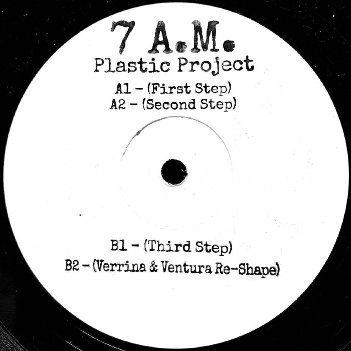 "( WLD 001R ) PLASTIC PROJECT - 7 AM (reissue) (12"") Wildflower Italy"
