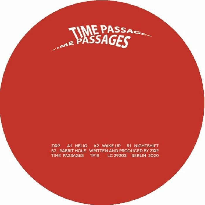 "( TP 18 ) ZAP - Helio EP (12"") Time Passages Germany"