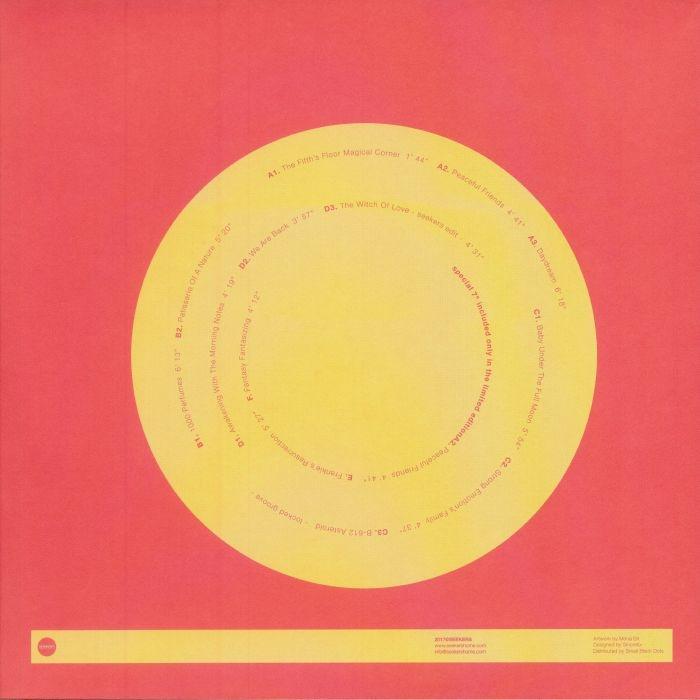 "( SKR 005X ) SEEKERS - Parallel's Life Feeling (2xLP + 7"" limited to 200 copies) Seekers"