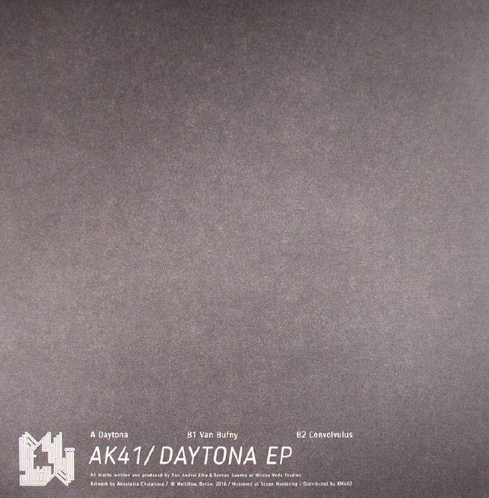 "( MFLOW 2 )  AK41 - Daytona EP (12"") Melliflow Germany"