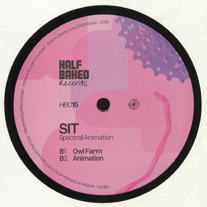 "(  HB 015 ) SIT - Spectral Animation (140 gram vinyl 12"") Half Baked"