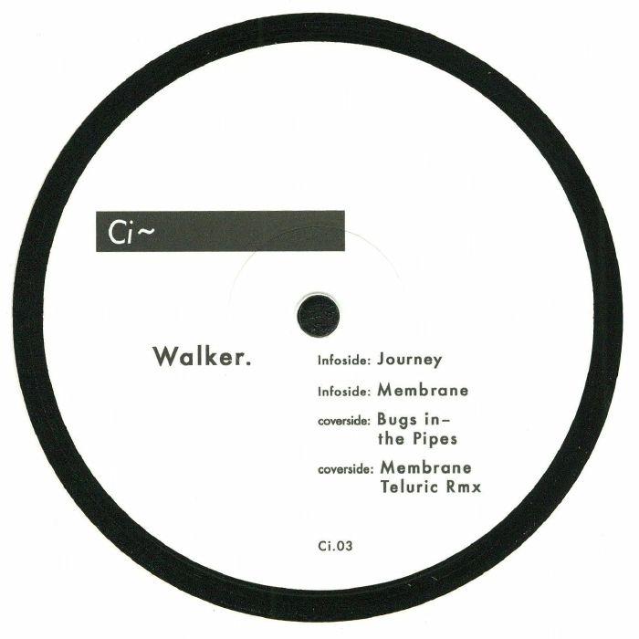 "( CI 03 ) WALKER - Journey (heavyweight vinyl 12"") CI"