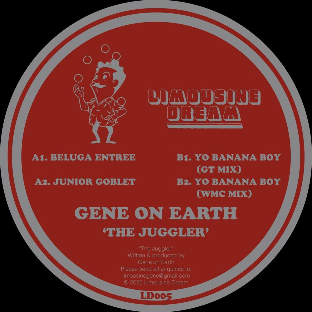 """( LD 005 ) Gene On Earth - The Juggler ( 12"""") Limousine Dream"""