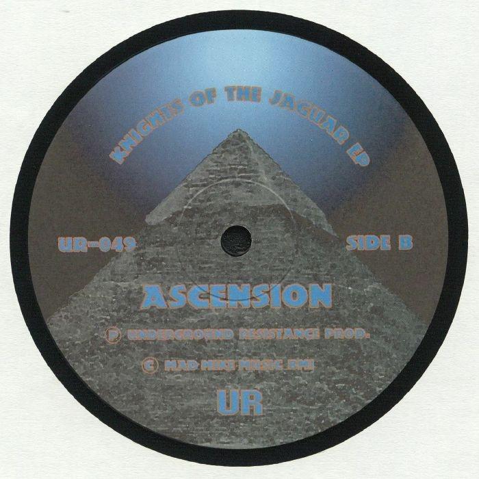 "( UR 049 ) AZTEC MYSTIC - Knights Of The Jaguar EP (12"" repress) Underground Resistance US"