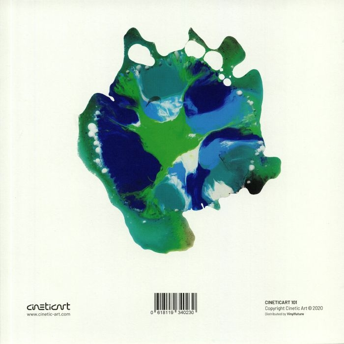 "( CINETICART 101 ) GLUEPED - Peren (white vinyl 12"") Cinetic Art Germany"