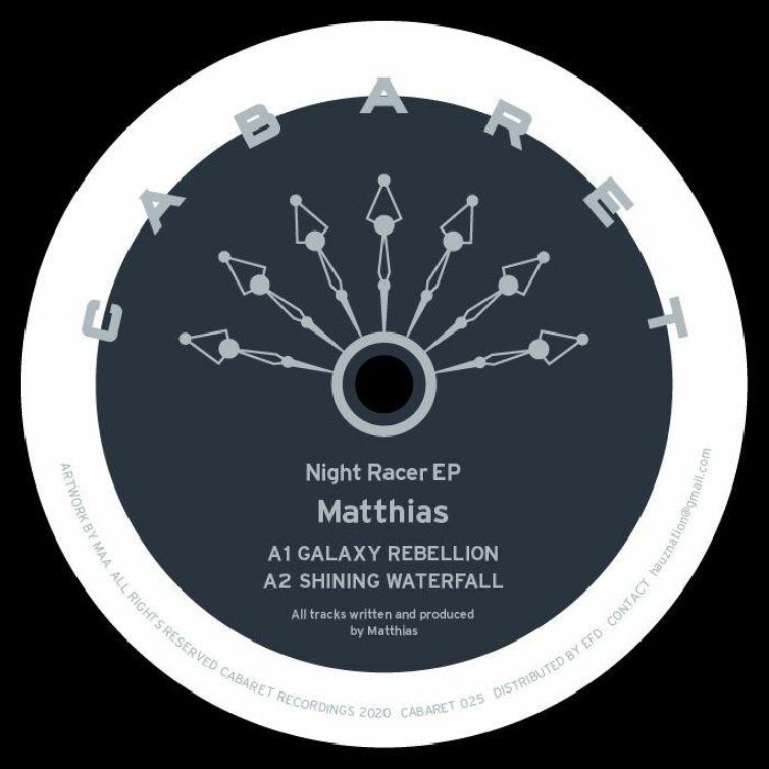 """( CABARET 025 ) MATTHIAS - Night Racer (12"""") Cabaret Japan"""