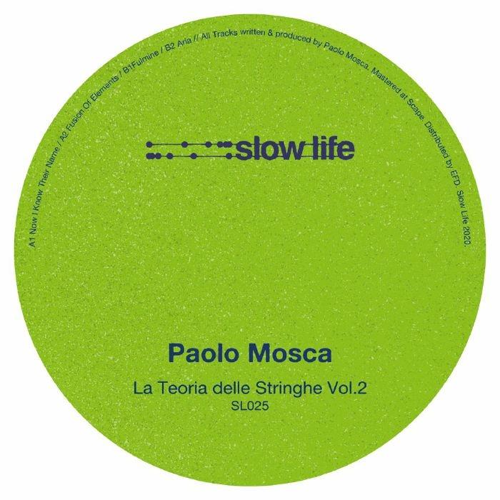 """( SL 025 ) Paolo MOSCA - La Teoria Delle Stringhe Vol 2 (12"""") Slow Life"""