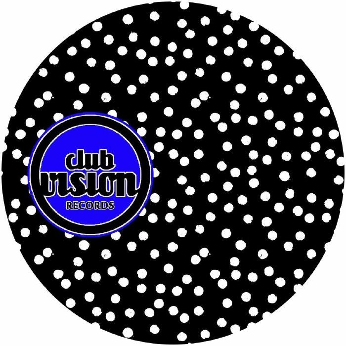 """( CV 03 ) Santiago URIBE - El Costo De Pensar En Nada (12"""") Club Vision Italy"""