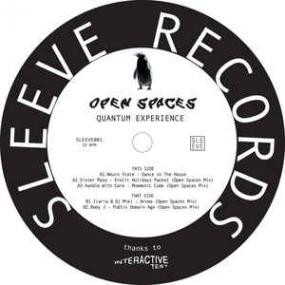 "( SLEEVE 001 ) VARIOUS - Open Spaces - Quantum Experience (12"") Sleeve records"