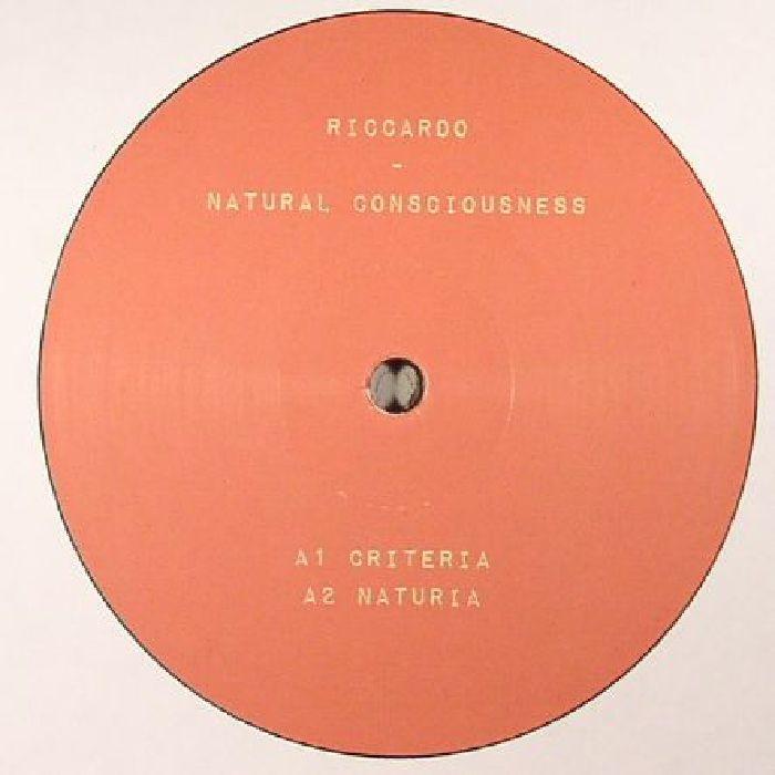 """( MET 004 ) RICCARDO - Natural Consciousness (12"""") (1 per customer) Metropolita"""