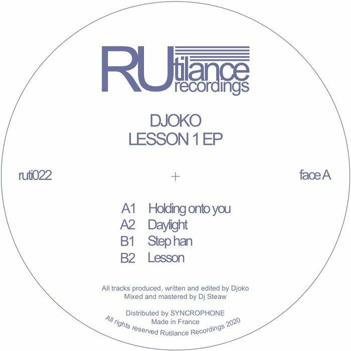 "( RUTI 022 ) DJOKO -  Lesson 1 EP (12"") Rutilance"