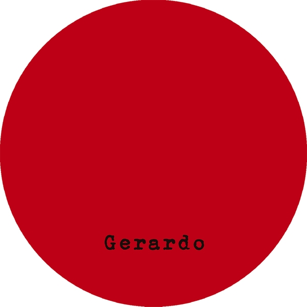 """( GERARDO 001 ) GERARDO - 01 (2x12"""") Gerardo"""