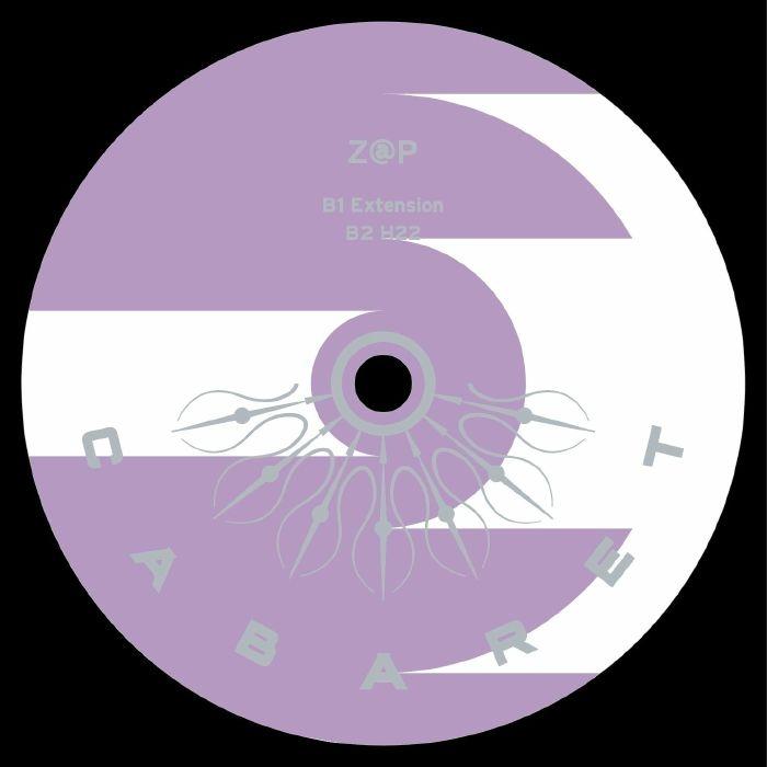 """( CABARET 028 ) Z@P - Extension EP (12"""") Cabaret Japan"""