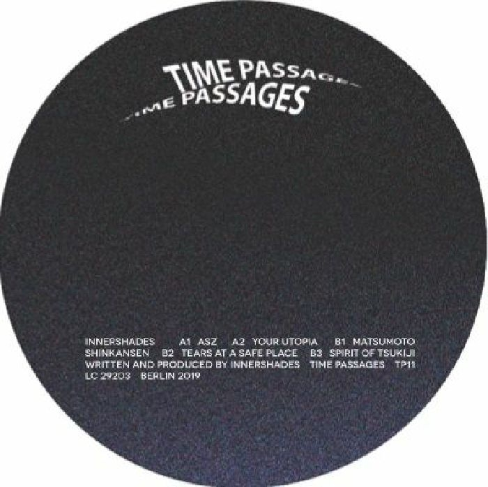 """( TP 11 )  INNERSHADES - ASZ (12"""") Time Passages Germany"""