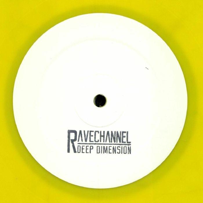 """( GENX 002 ) GEN X -  Rave Channel (hand-stamped yellow vinyl 12"""" + insert) Gen X Holland"""