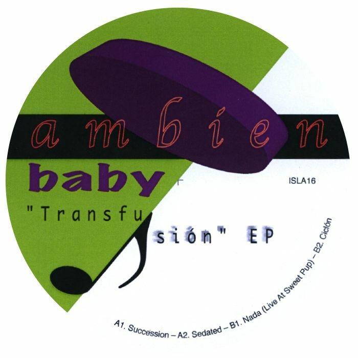 "( ISLA 16 )  AMBIEN BABY - Transfusion EP (140 gram vinyl 12"") - Isla Canada"