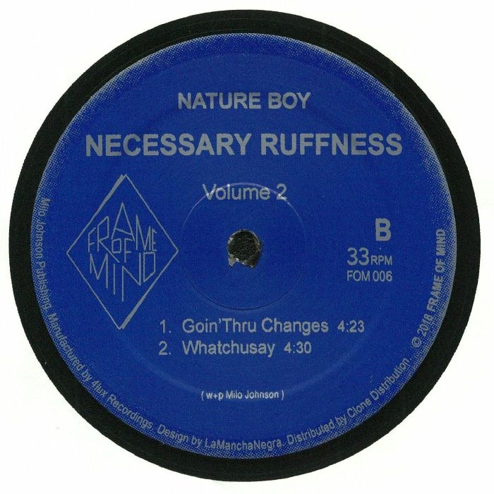 "( FOM 006 ) NATURE BOY - Necessary Ruffness Volume 2 (12"") Frame Of Mind Holland"