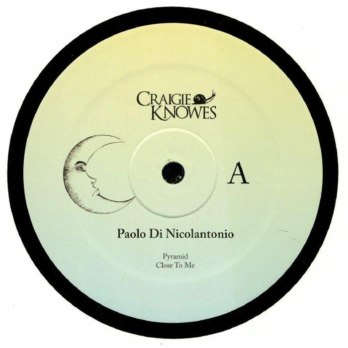 """( CKNOWEP 9 ) Paolo DI NICOLANTONIO - Close To Me EP (12"""") Craigie Knowes"""