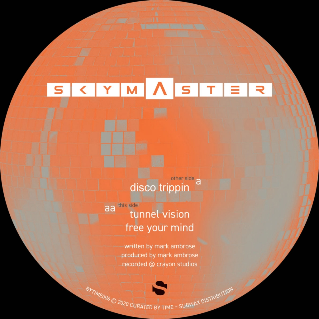 """( BYTIME 006 ) Skymaster - Disco Trippin (12"""" Vinyl )  Curated by Time"""