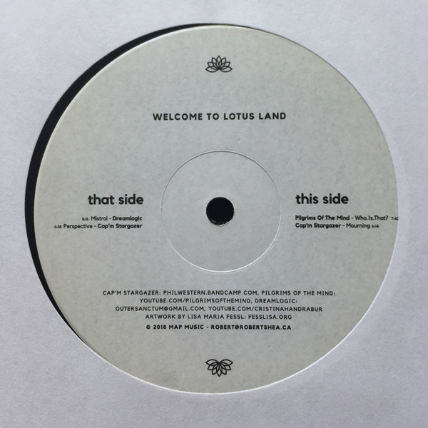 "( WTLLDB 01 ) Various – Welcome To Lotus Land (vinyl 2×12"" Compilation, Remastered) Map Music"