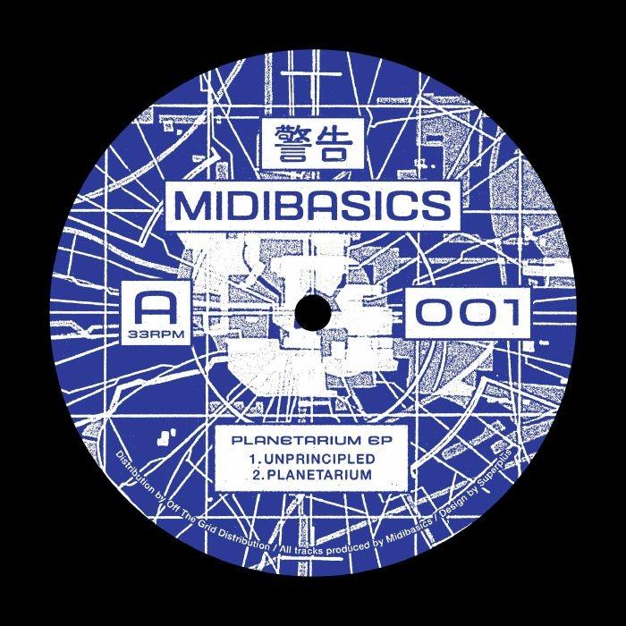 """( MIDIBASICS 001 ) MIDIBASICS - Planetarium EP (12"""") Midibasics Germany"""