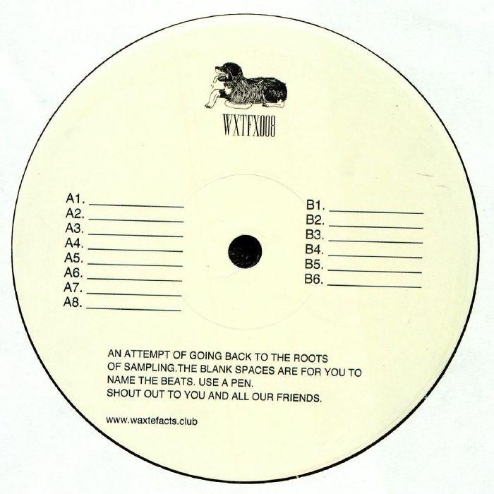 ( WXTFX 008 ) DON PATRON - Smooth (LP) Waxtefacts