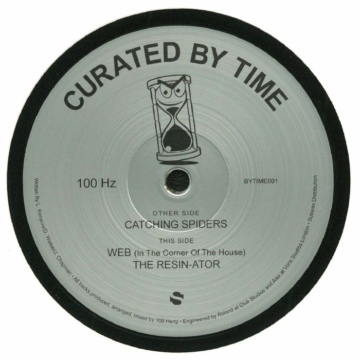 """( BYTIME 001 ) 100 HZ - Catching Spiders (12"""") Curated By Time Spain"""