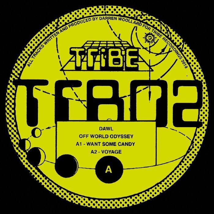 "(  TRB 02 ) DAWL -  Off World Odyssey (12"") Tribe Spain"