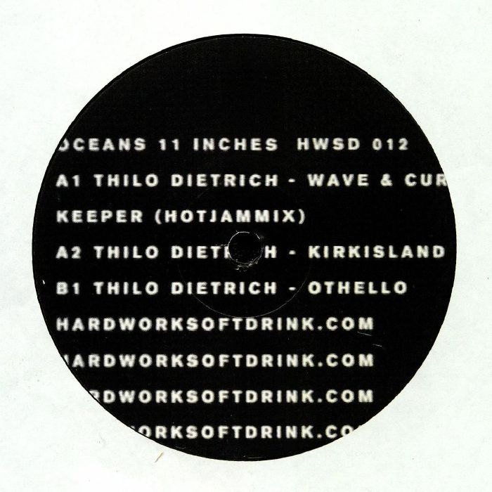 """( HWSD 012 ) Thilo DIETRICH - Oceans 11 Inches (12"""") Hardworksoftdrink"""