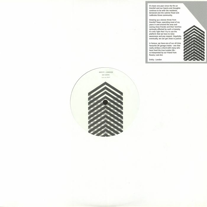 "( GETDOWN 001 )  ENTITY LONDON - Get Down (12"") - Get Down UK"