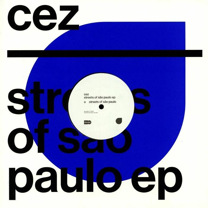 """( DISCOBAR 11 ) CEZ - Streets Of Sao Paulo EP (12"""") Discobar"""