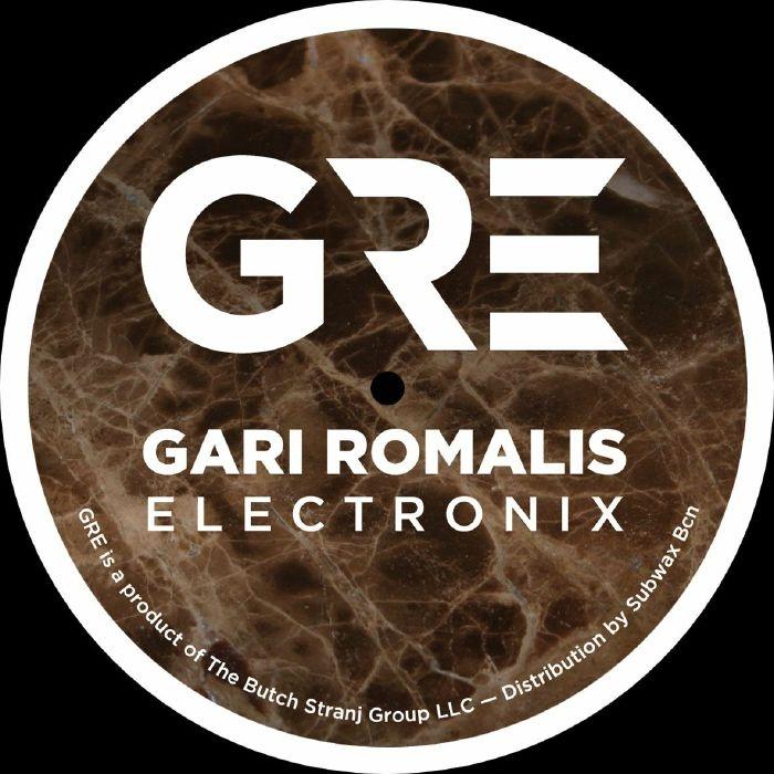 """( GRE 002 ) Gari ROMALIS - 3 Point 5 EP (Remastered) (12"""") GRE (Gari Romalis Electronix)"""
